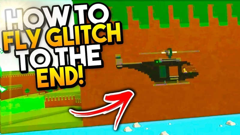 How To Do The HELICOPTER GLITCH Build A Boat For Treasure ROBLOX