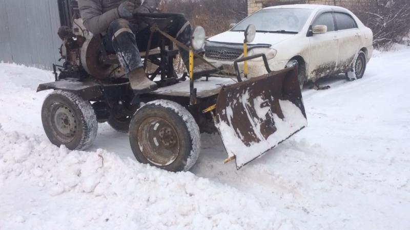Самодельный мини трактор своими руками