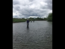 Fly fishing casting