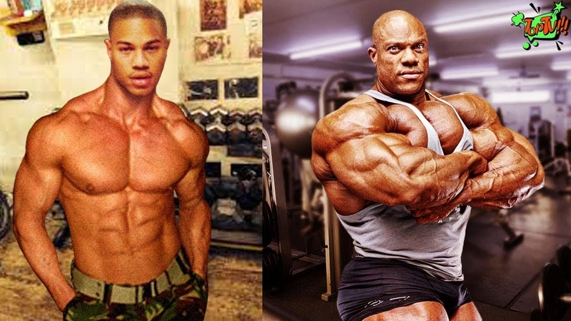 Phil Heath - Transformation From 3 To 38 Years Old