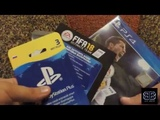 Распаковка бандла PS4 FIFA 18