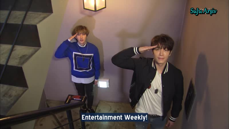 150314 Entertainment Weekly Super Junior Donghae Eunhyuk Türkçe Altyazılı