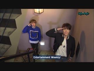 150314 Entertainment Weekly - Super Junior Donghae & Eunhyuk (Türkçe Altyazılı)