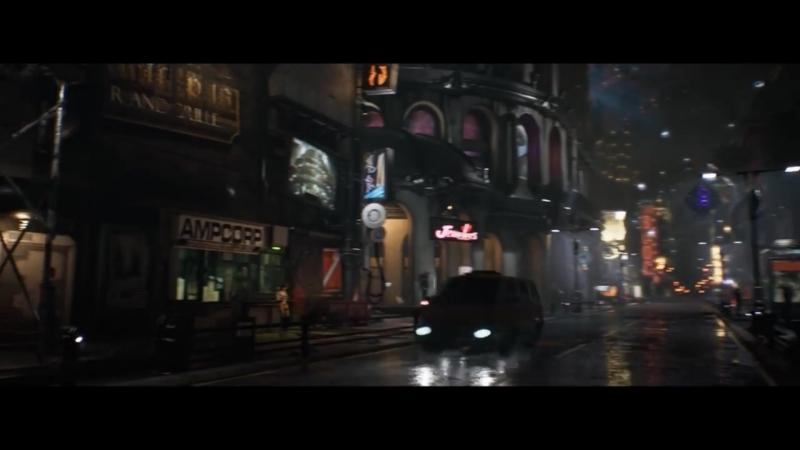Cyberpunk Street Scene (Identified Patient)