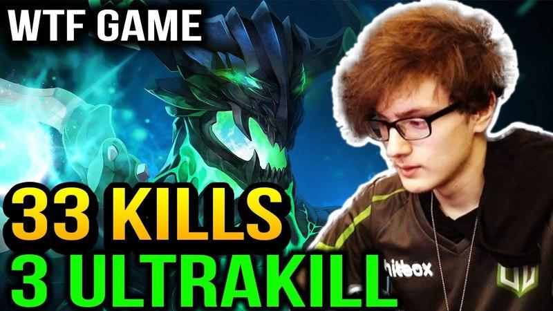MIRACLE WTF IS THIS GAME?? 33 Kills 3 ULTRAKILL Dota 2