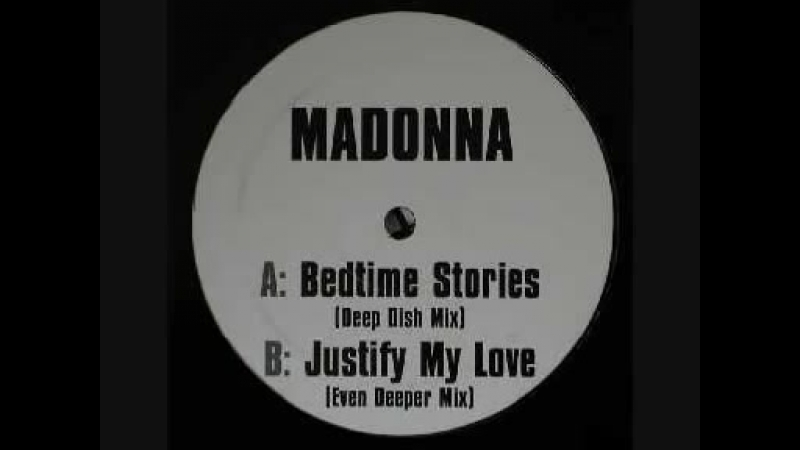 Madonna Bedtime Stories Deep Dish Mix