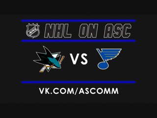 NHL   Sharks VS Blues