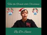Как Гринч украл Рождество. Читаем вместе.