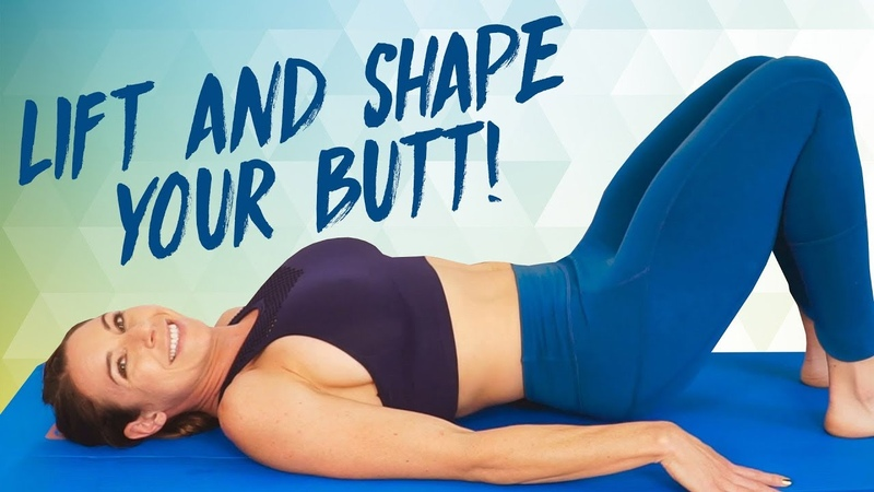 Lift Shape That Butt at Home! Equipment Free Glute Workout, Inner Thighs, Butt Lift, Fitness