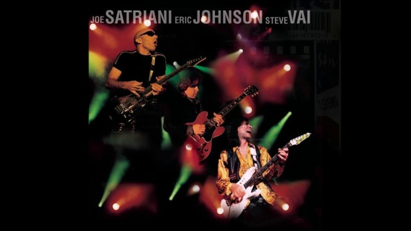 Joe Satriani / Steve Vai / Eric Johnson - G3 Live in Concert (1997) (CD, US) [HQ]