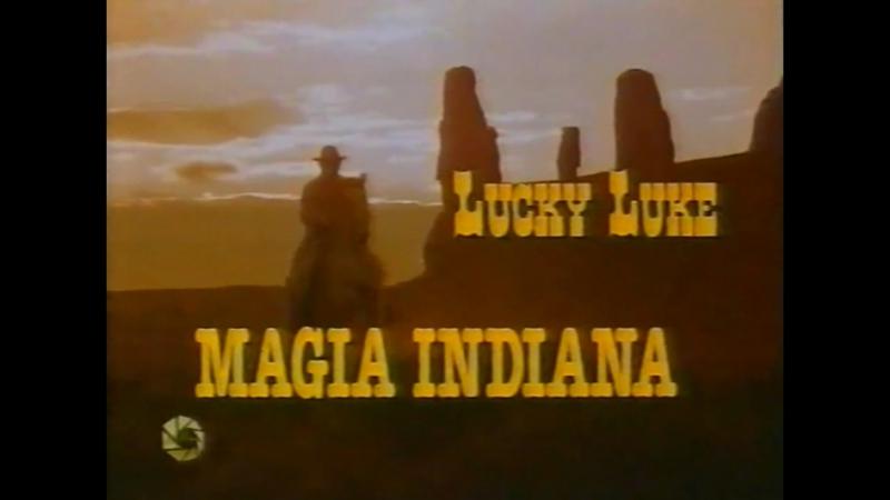 Счастливчик Люк 1x07 Волшебство индейцев