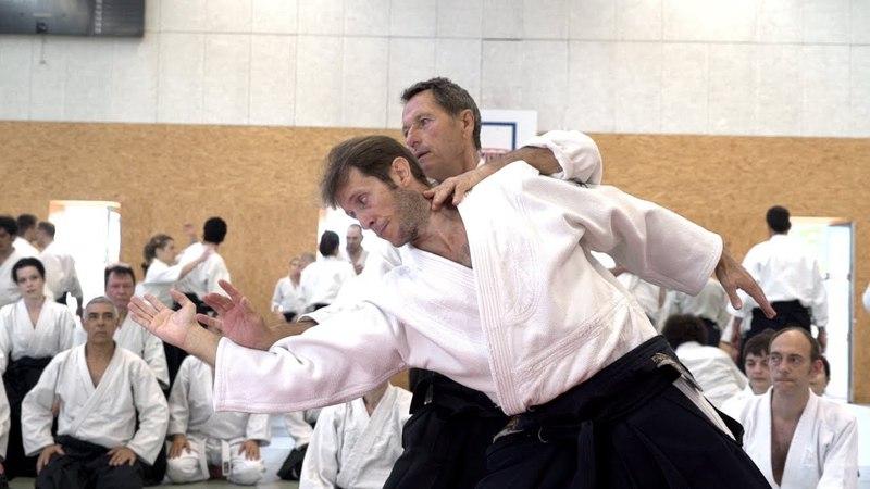 Aikido: Christian Tissier Paris 2018