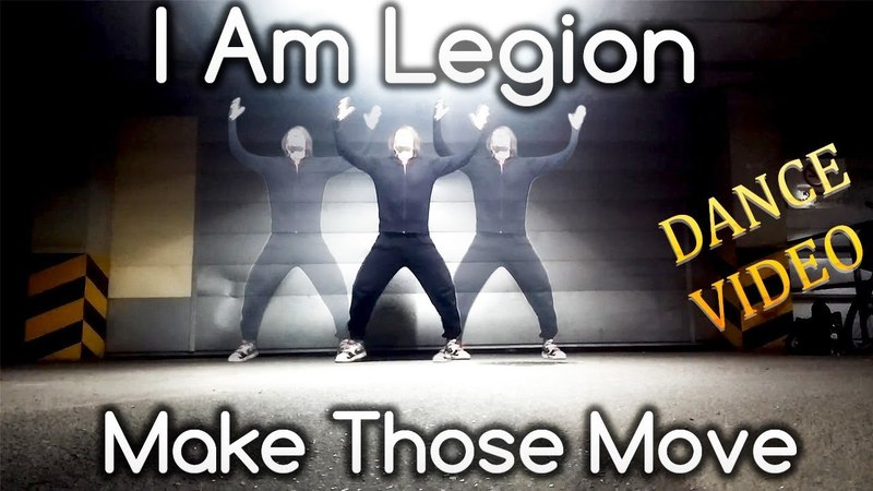 I Am Legion - Make Those Move | Dance Improvisation video by Andrey Kovalenko