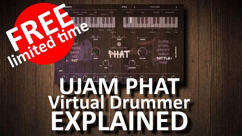 FREE GIFT from Avid: UJAM Virtual Drummer PHAT ( EXPLAINED)