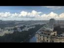 Дождливый день из окон офиса Game Insight в Москве