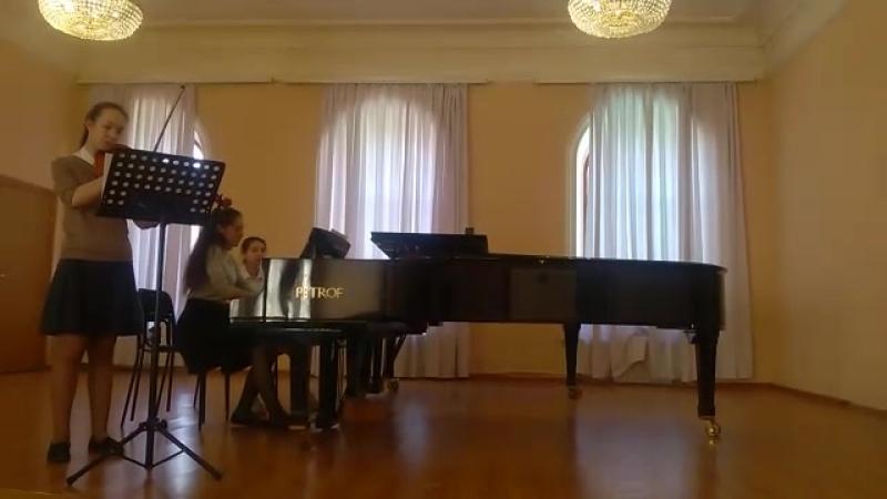 Анна Селезнёва. Сюита в старинном стиле для альта и фортепиано