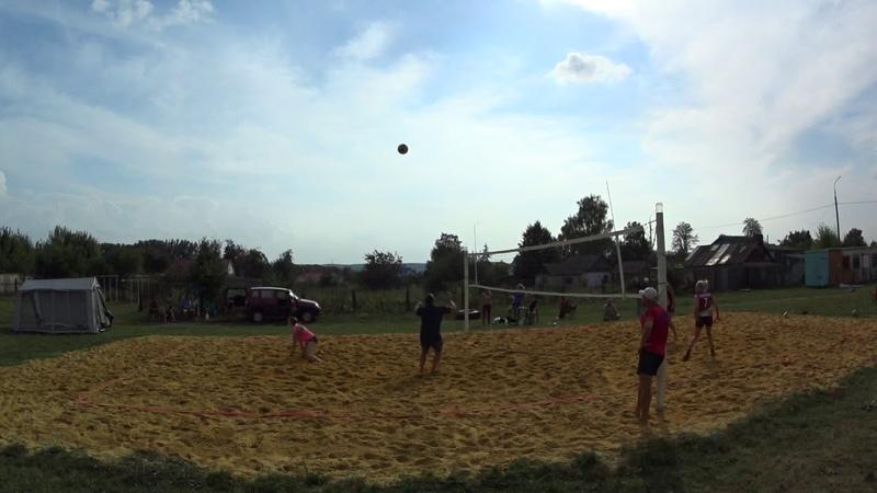 Игра 9 Пляжный волейбол закрытие сезона микст Новосиль 2018 09 15