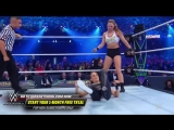 Ronda Rousey shows no mercy against Stephanie McMahon in her WWE in-ring debut_