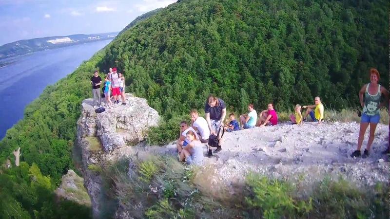 Национальный парк «Самарская Лука», облёт «Пятака» на горе «Верблюд» – 1