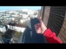 Краснодарский трюкач катается на гироскутере по крышам