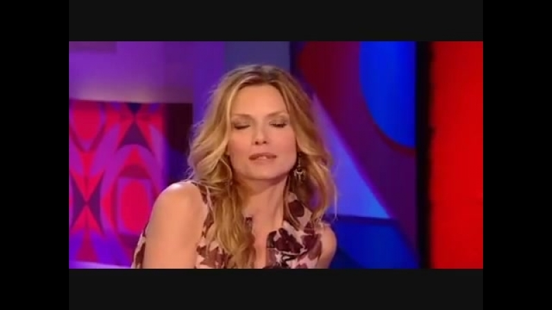 Michelle Pfeiffer on Jonathan Ross 2007.10.05 (part 1)