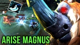 Arise Back to his Best Hero Magnus - EPIC RP at Rosh Pit to Save the Game - Dota 2