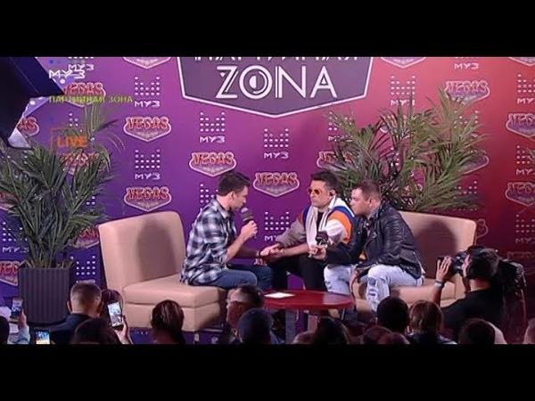группа Градусы в программе Партийная ZONA (2018)
