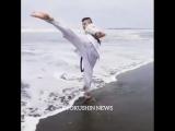 Хитрая Бразильская Маваха в голову в Кёкусинкай карате. Подготовка бойца https://vk.com/oyama_mas