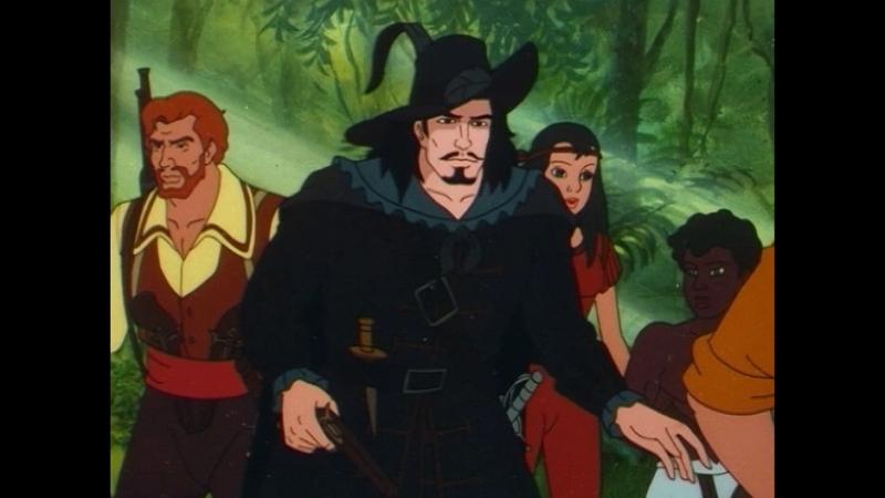 Черный пират. След Ван Гульдена, 12 серия