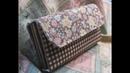 長財布作ってみた 縁どりしない簡単な作り方 Making a Handmade Wallet How to Make a Fabric Wallet