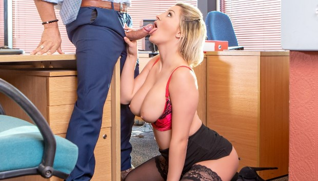 Private - Sienna Day fucks her boss in the office