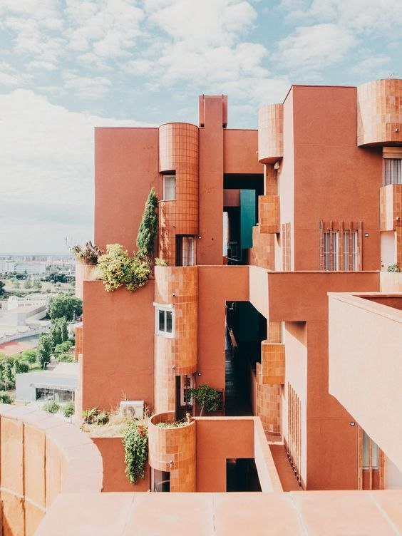 Ricardo Bofill's Walden 7 – utopian vision for social living.