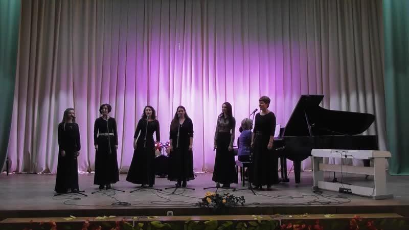 выступление народного женского вокального ансамбля Канцона
