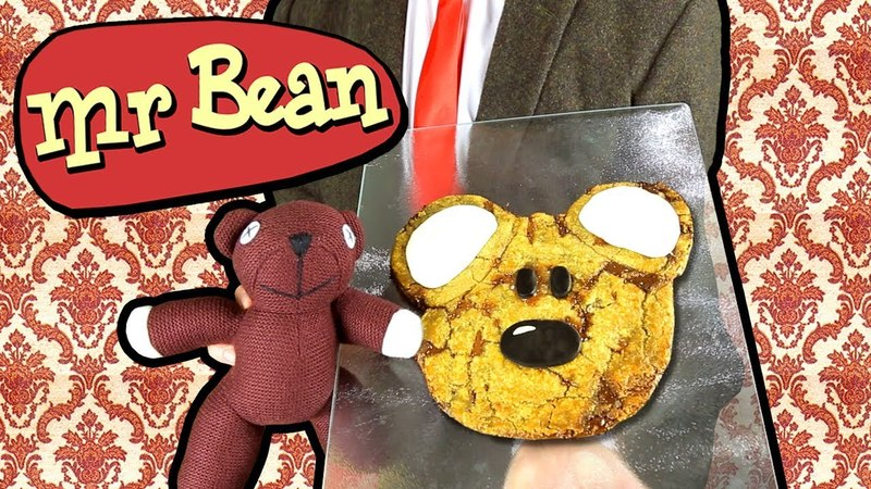 How To Make A Teddy Cookie | Funny Mr Bean Cooking Parody | Mr Bean Bakes A Cookie Cake