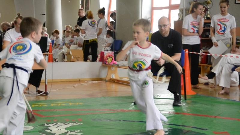 Андрей Секирин 1 бой, VIVA capoeira для начинающих, 11.03.18