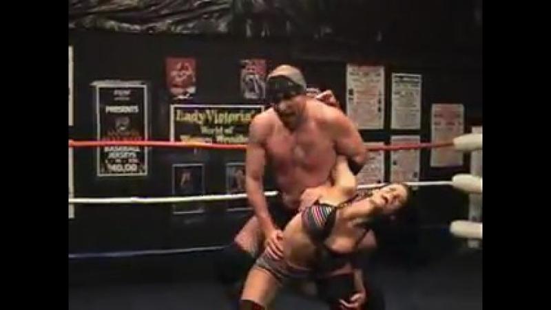 Mixed Pro Wrestling Match