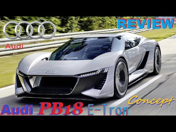 Audi PB18 E Tron Concept Next Gen Audi R8 E Tron REVIEW Interior Exterior and Drive