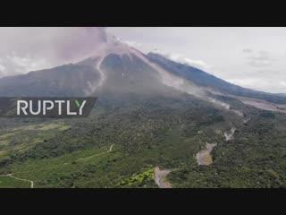 Guatemala- thousands flee as 'fuego' volcano erupts again.mp4