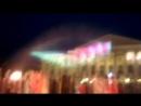 Голографический фонтан. Площадь 400-летия Тюмени