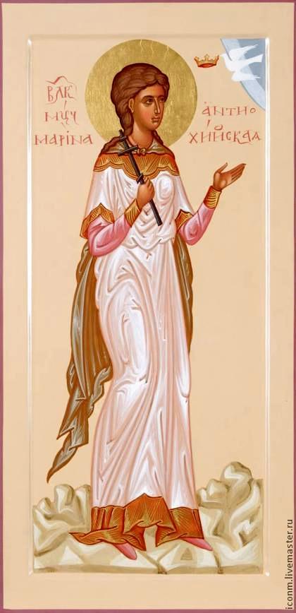 Мощи Великомученицы Марины (Маргариты) в Благовещенском Соборе г. Биробиджана 29.07.2018 22:06