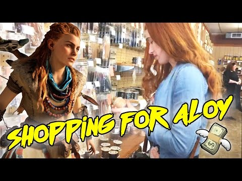 Shopping for Leather Cosplay Supplies! [Aloy from Horizon Zero Dawn]