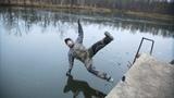 Первый лед! Провалились под лед 6 РАЗ!!! Тестируем костюмы поплавки для рыбалки. Часть 1