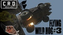 Crossout: [ Tusk Rocket booster x6 ] FLYING WILD HOG 3 [ver. 0.9.55]