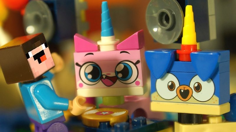 Юникитти и Лего НУБик Майнкрафт - LEGO Unikitty - Мультики Все Серии Подряд ИГРУШКИ РАСПАКОВКА