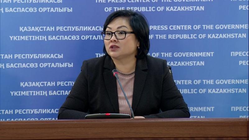 О проводимой работе по снижению нагрузки на учеников Шолпан Каринова