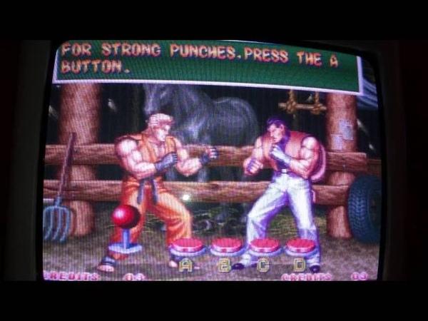 Art Of Fighting 2 Neo Geo AES Tuto Geese