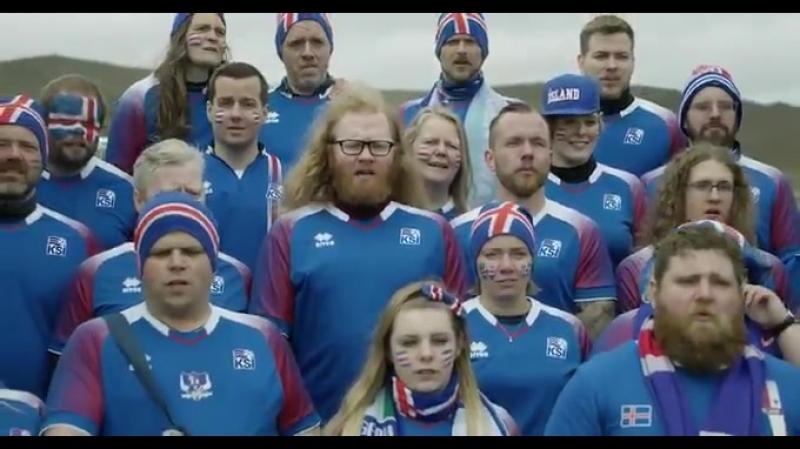 Посмотрите, как Исландские болельщики поют Калинку и благодарят Россию за гостеприимство.