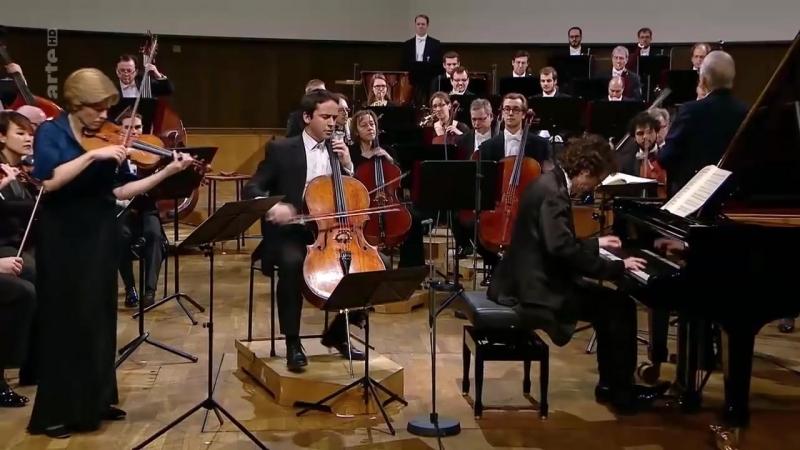 Beethoven Triple concerto pour violon, violoncelle et piano