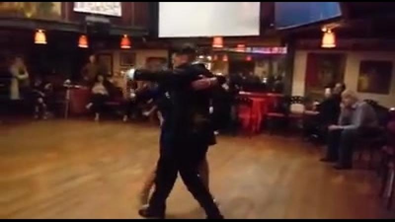 Вокальный номер с танго канженге: Graciela Osvaldo