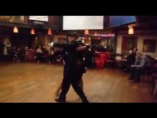 Вокальный номер с танго канженге: graciela & osvaldo
